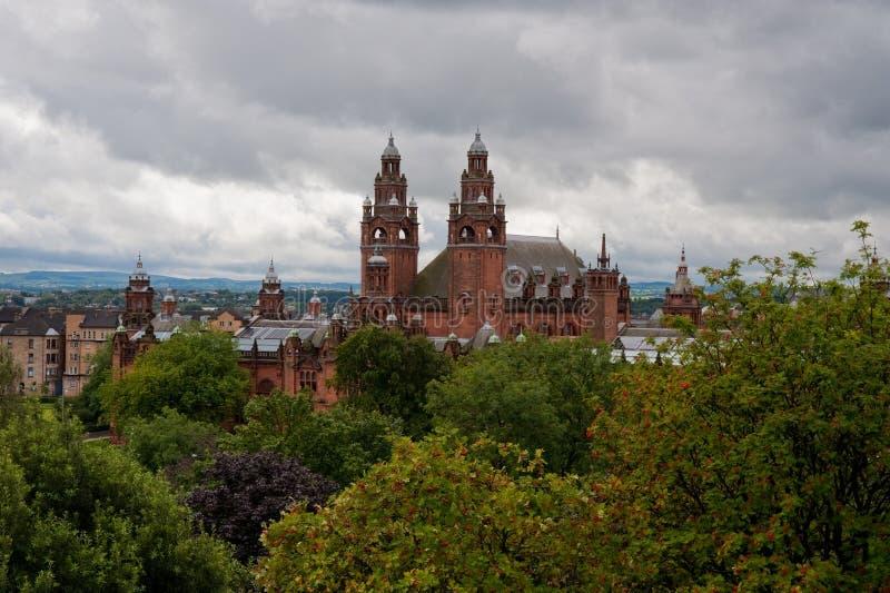 Glasgow foto de archivo libre de regalías