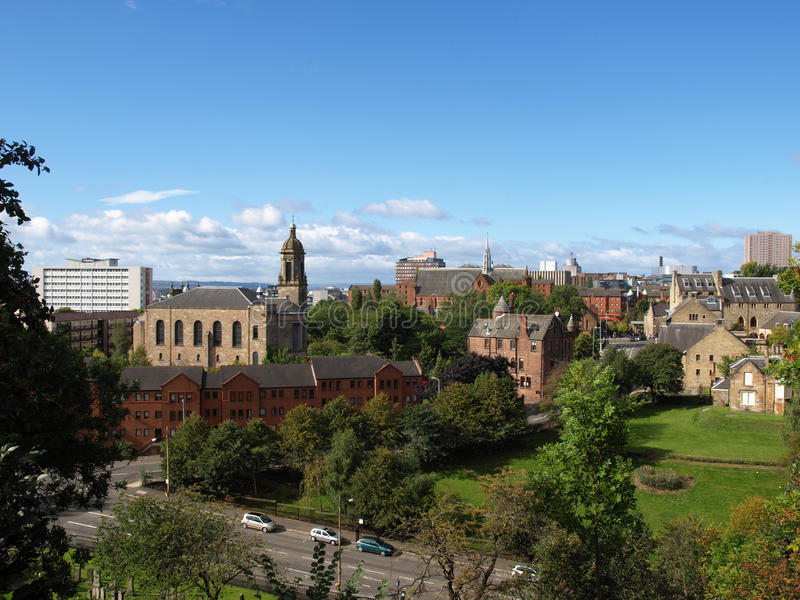 Download Glasgow stock photo. Image of glasgow, panorama, united - 16426732