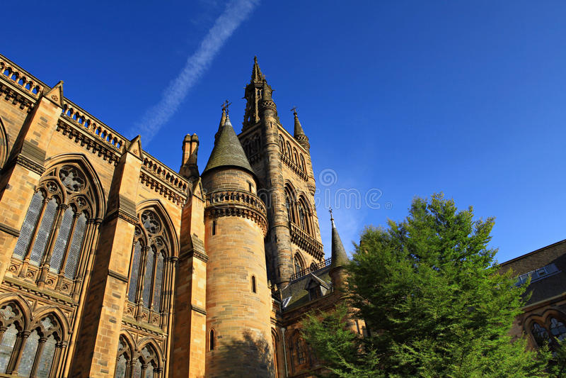 Glasgow royaltyfria bilder