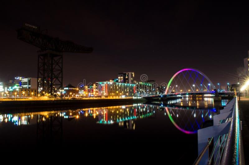 Download Glasgow Bridge immagine stock editoriale. Immagine di glasgow - 56889894