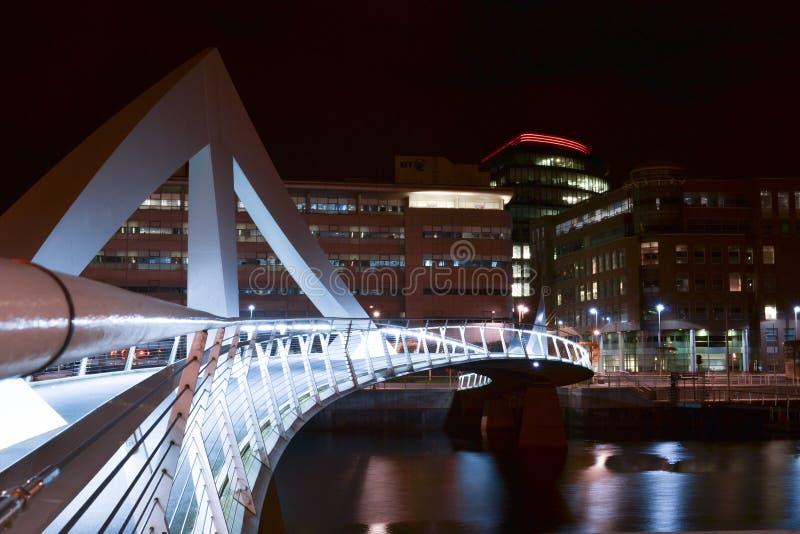 Glasgow Bridge royalty-vrije stock afbeelding