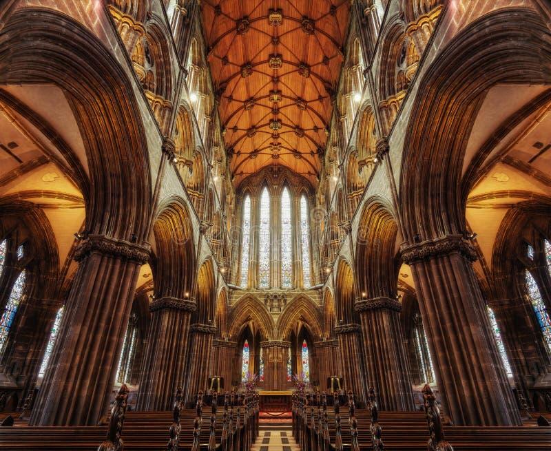 Glasgow Cathedral 2015 fotografia stock libera da diritti