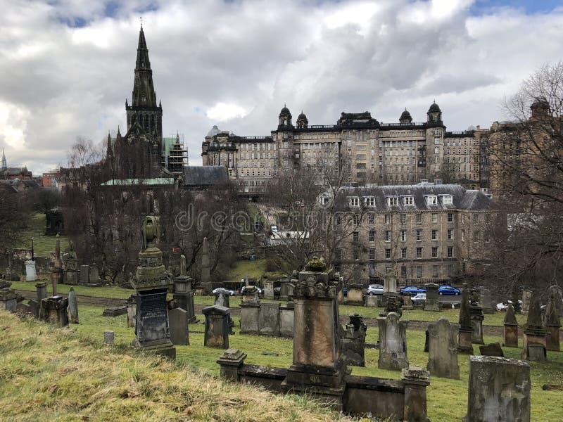 Glasgow Cathedral fotografie stock libere da diritti