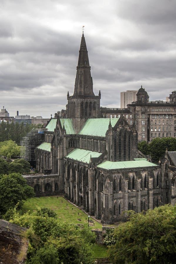 Glasgow Cathedral fotografia de stock