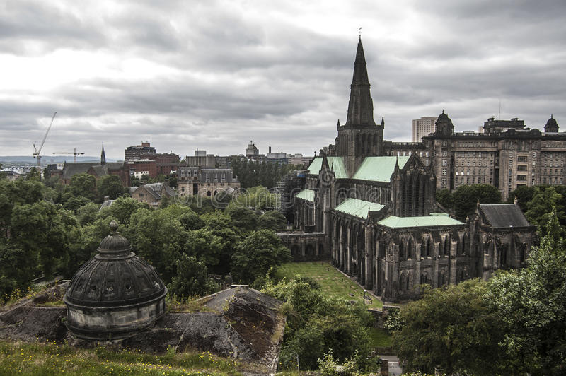 Glasgow Cathedral royalty-vrije stock afbeelding