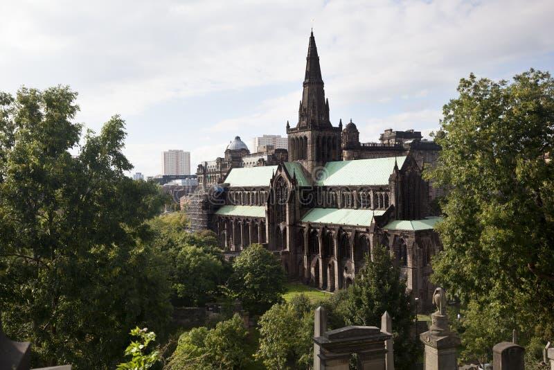 Glasgow Cathedral photos libres de droits