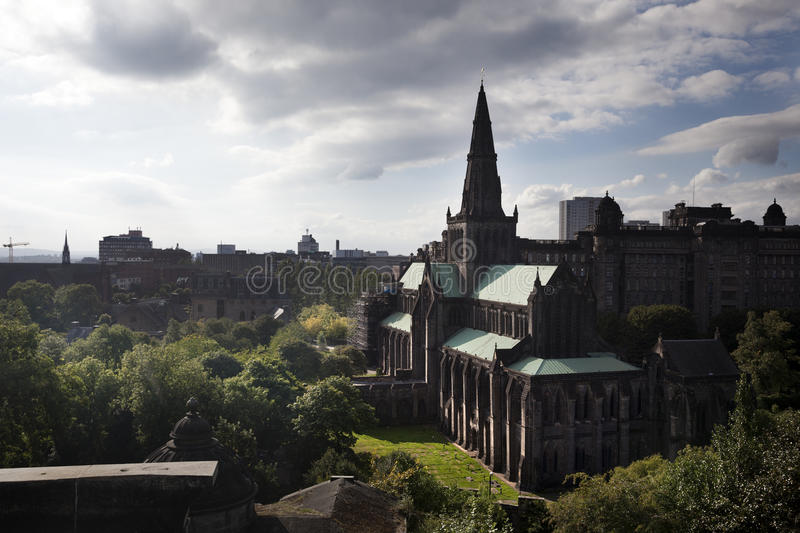Glasgow Cathedral image stock