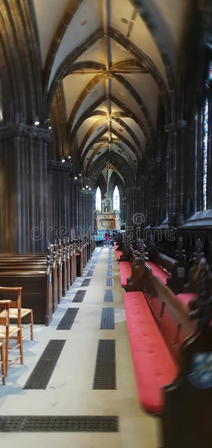 Glasgow Cathedral fotografia stock libera da diritti