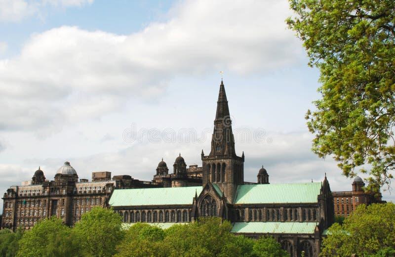 Glasgow Cathedral em Escócia, Reino Unido fotos de stock royalty free