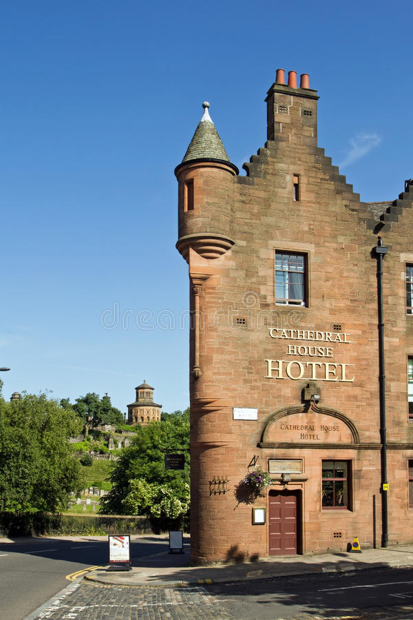 Glasgow Cathedral House Hotel foto de stock