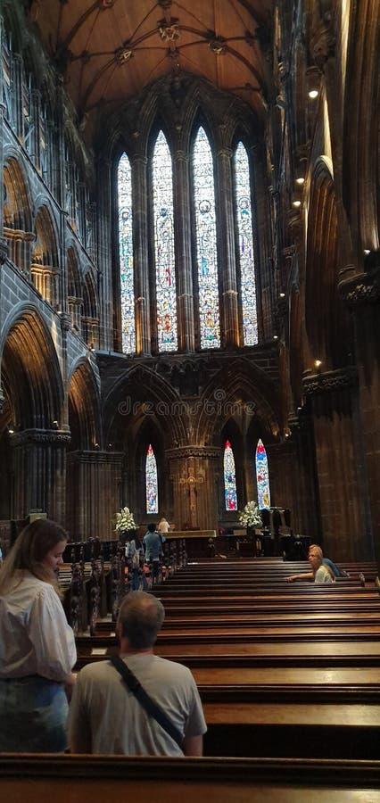 Glasgow Cathedral foto de archivo libre de regalías