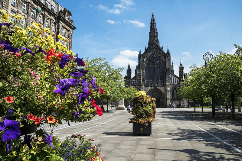 Glasgow Cathedral royalty free stock photography