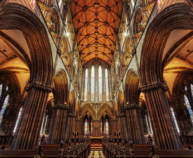 Glasgow Cathedral 2015 royalty free stock photography