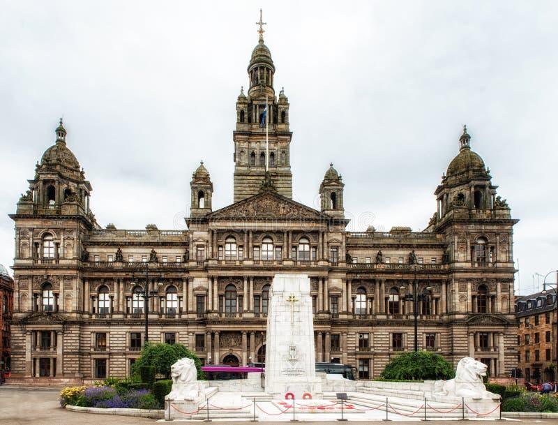 Glasgow Cenotaph foto de archivo