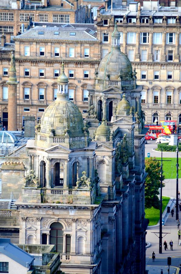 Glasgow City Chambers image libre de droits