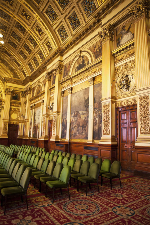 Glasgow City Chambers images stock