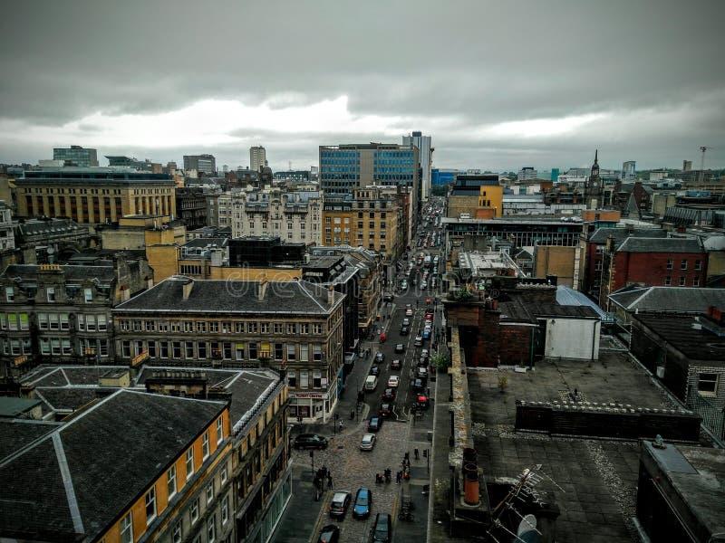 Glasgow Cityscape royalty-vrije stock foto