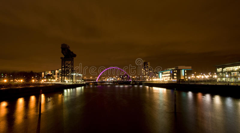 Download Glasgow Clyde stock image. Image of building, river, crane - 12976157
