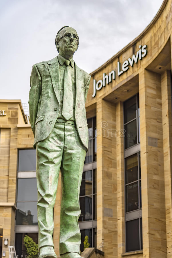 Glasgow Donald Dewar statua zdjęcie stock