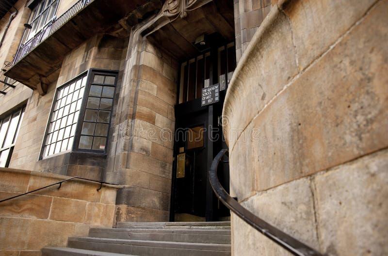 Glasgow, Ecosse, R-U, septembre 2013, Glasgow School de Charles Rennie Mackintosh d'art avant le feu d?sastreux qui photos libres de droits