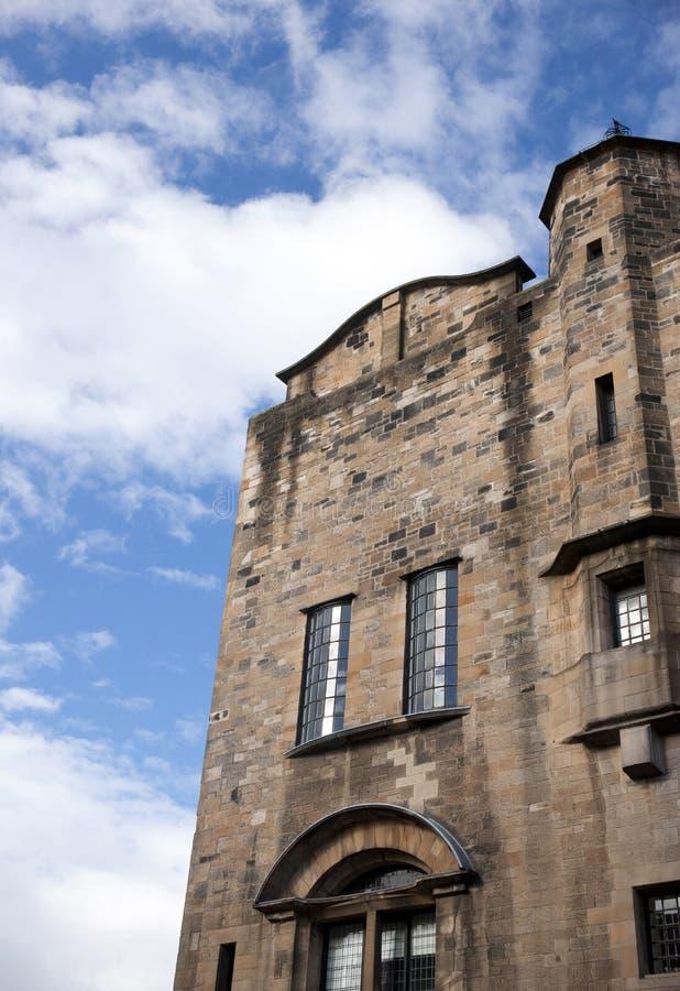 Glasgow, Ecosse, R-U, septembre 2013, Glasgow School de Charles Rennie Mackintosh d'art avant le feu d?sastreux qui images libres de droits