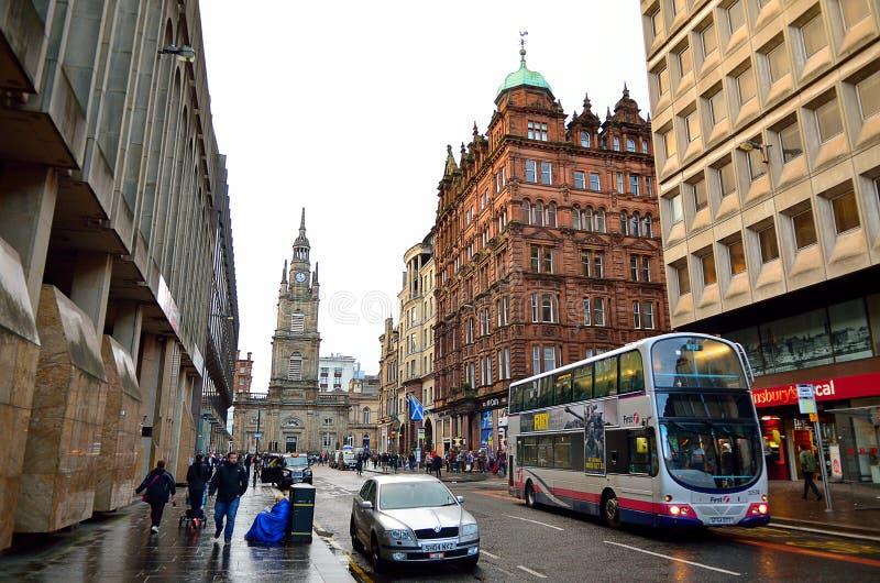 Glasgow, Escocia imagenes de archivo