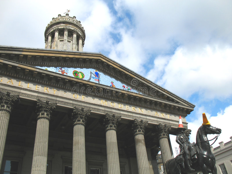 Glasgow Gallery of Modern Art royalty free stock photography