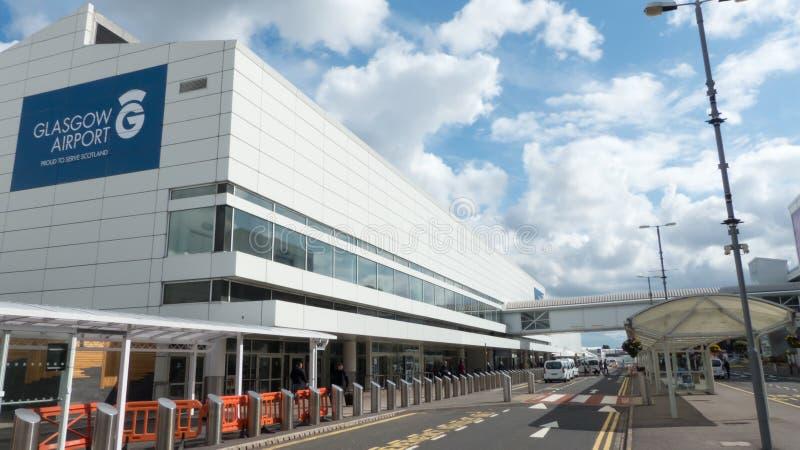 Glasgow International Airport stockfotos