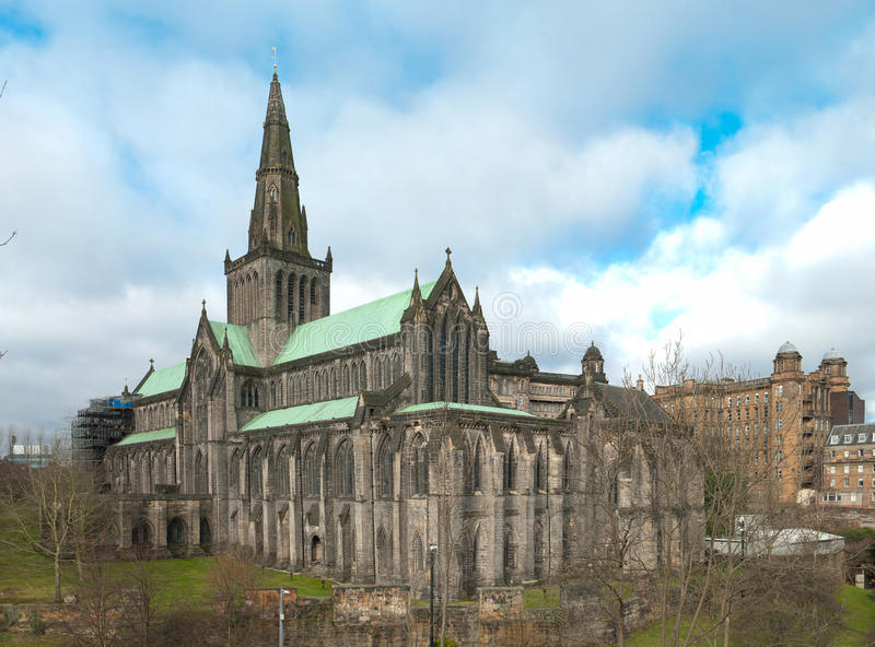 Glasgow-Kathedrale lizenzfreies stockbild