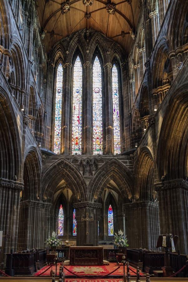 Glasgow-Kathedrale, Schottland stockfotografie