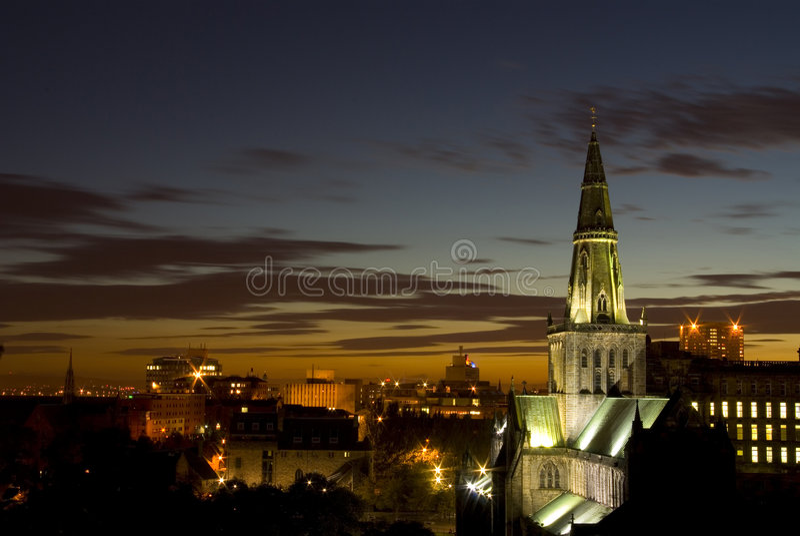 Glasgow-Kathedrale, Schottland, Europa stockfotografie