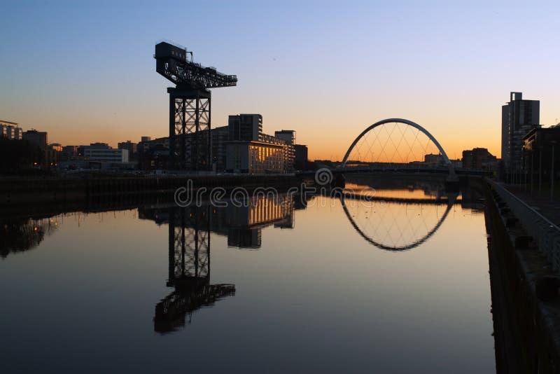 Glasgow morning stock photos