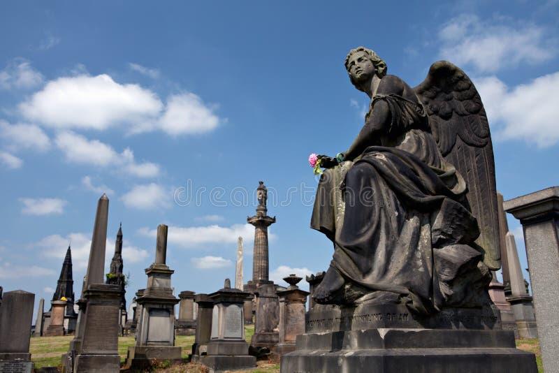 Glasgow Necropolis. imagenes de archivo