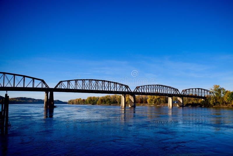 Glasgow Railroad Bridge images libres de droits