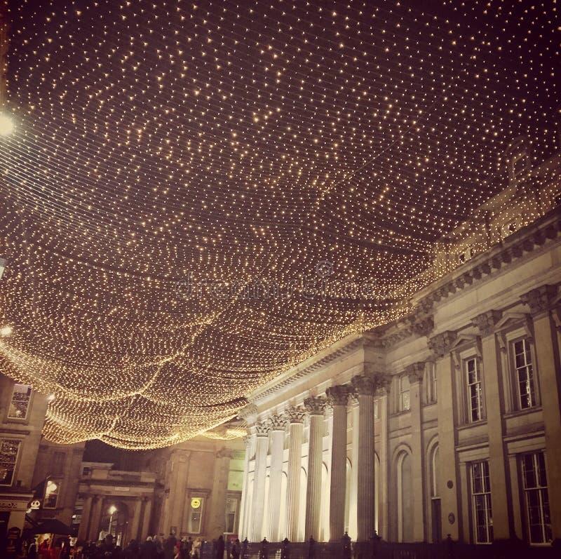Glasgow Royal Exhange Sqaure royalty free stock photos