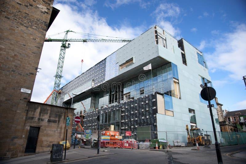 Glasgow, Schottland, Gro?britannien im September 2013 Charles Rennie Mackintoshs Glasgow School der Kunst vor dem verh?ngnisvolle stockfoto
