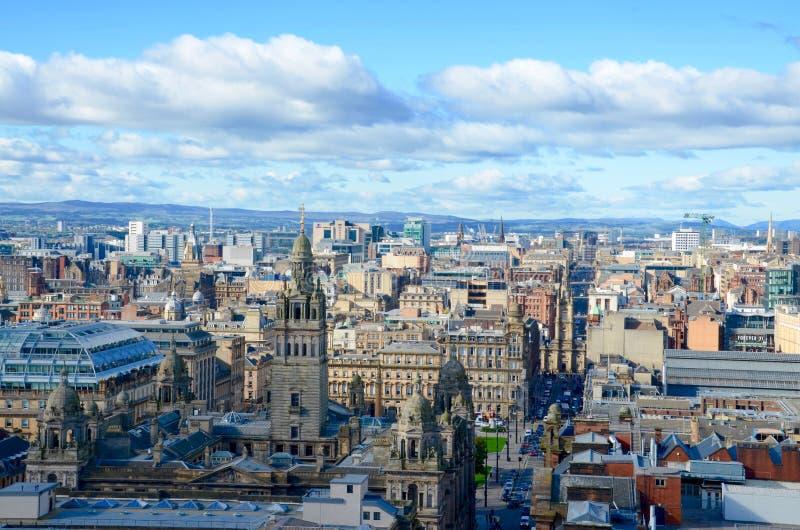 Glasgow Skyline royalty-vrije stock foto's