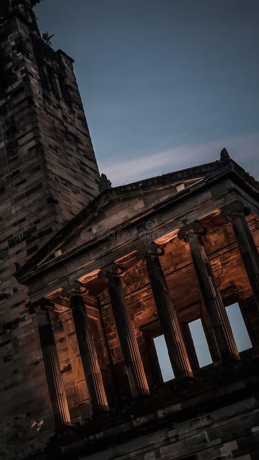 Glasgow Southside Monument fotos de archivo
