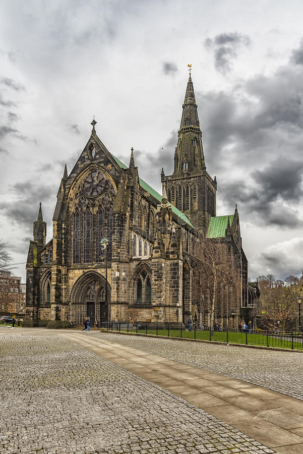 Glasgow St Mungos Cathedral immagine stock