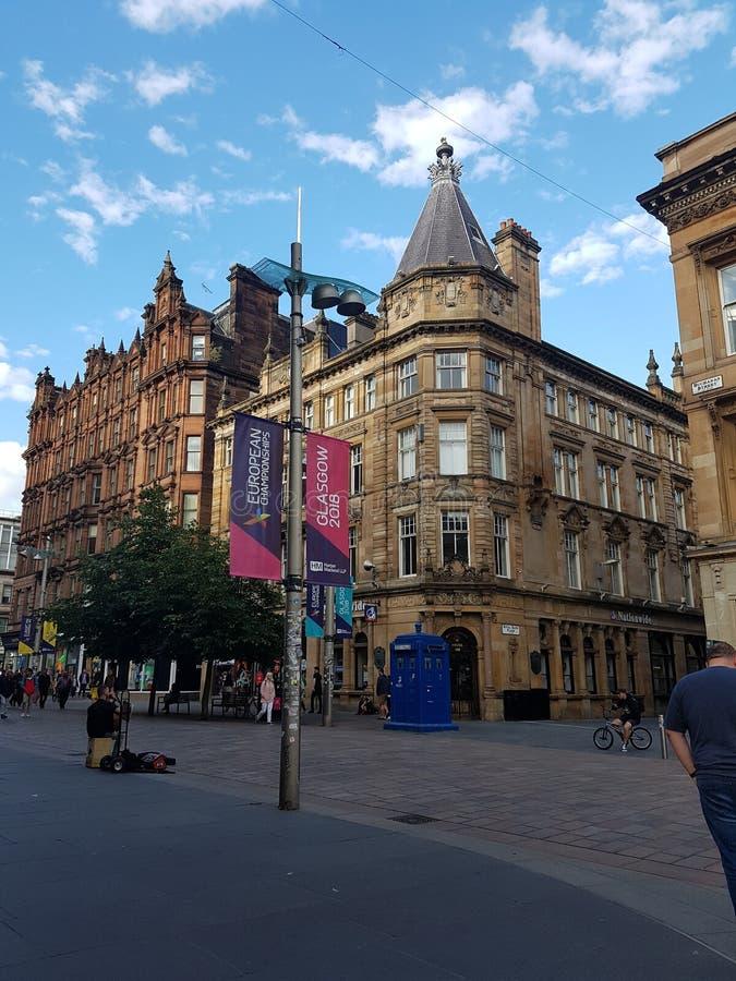 Glasgow sur l'Ecosse photo libre de droits