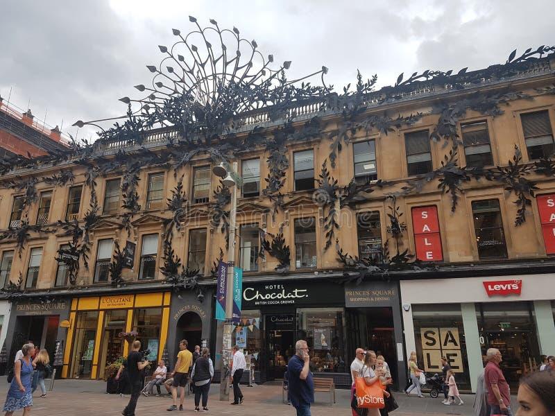 Glasgow sur l'Ecosse - ville photo libre de droits