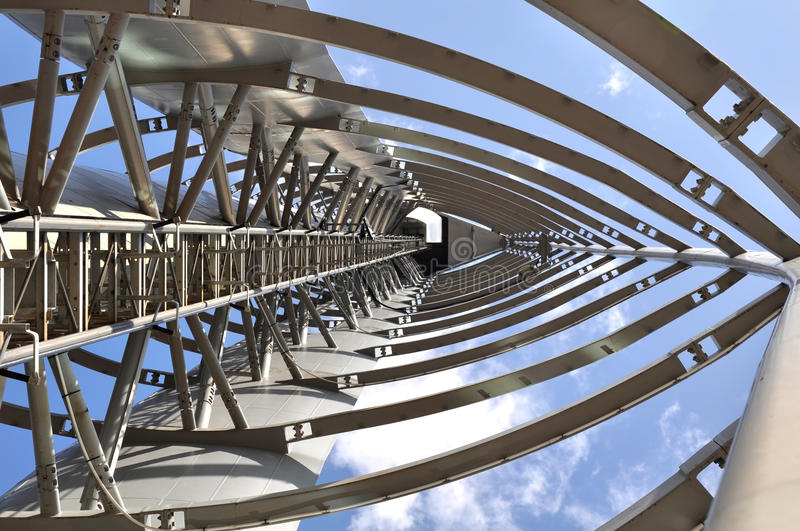 Download Glasgow Tower A Different View Stock Image - Image: 12181649