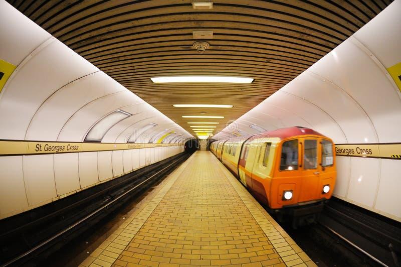 Download Glasgow Underground stock image. Image of glaswegian - 16445863