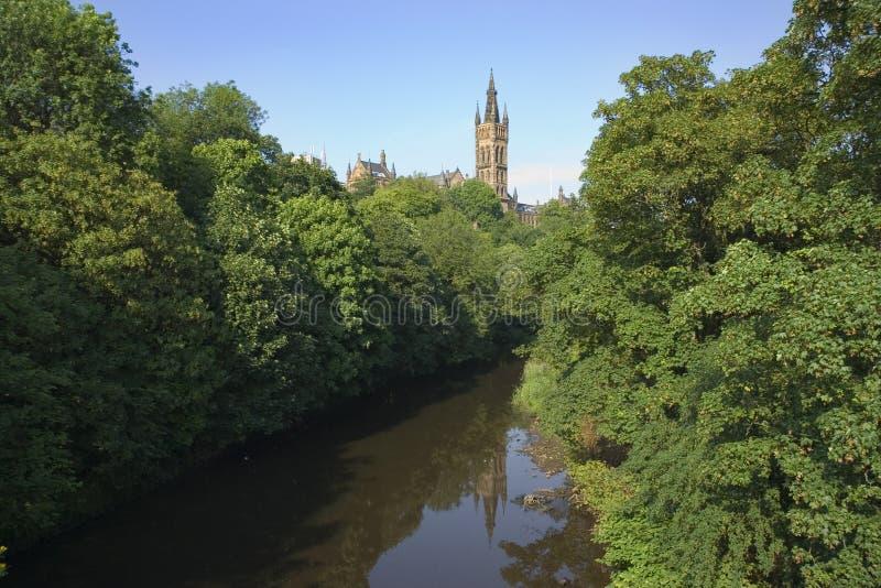 Glasgow-Universität stockfotos