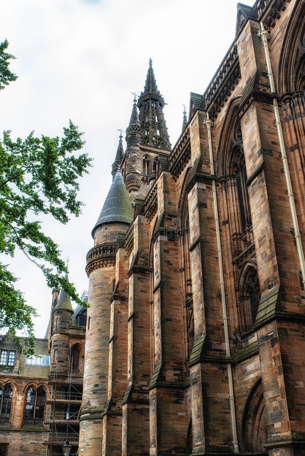 Glasgow University photos stock
