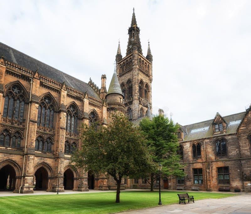Glasgow University arkivbild