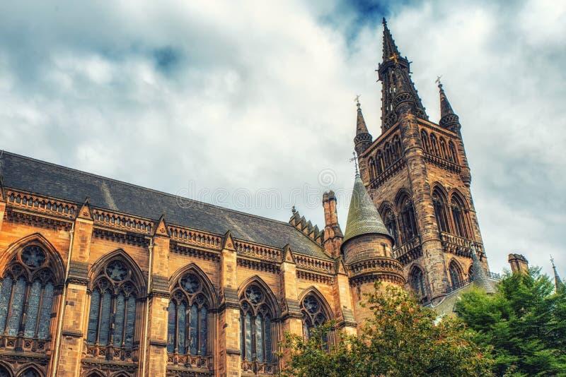 Glasgow University images stock