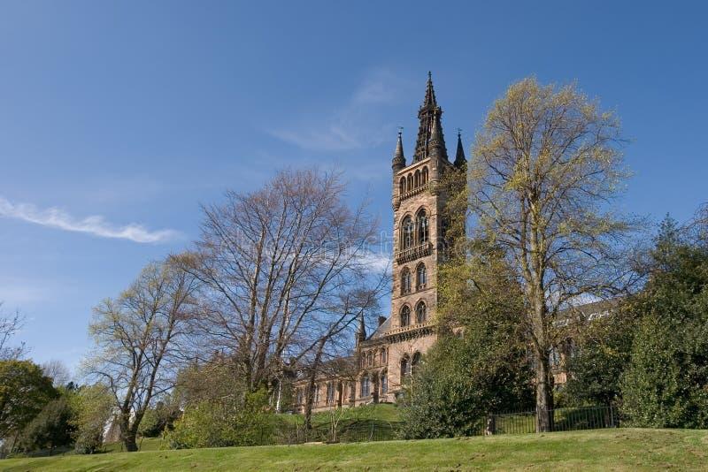 Glasgow University stock photography