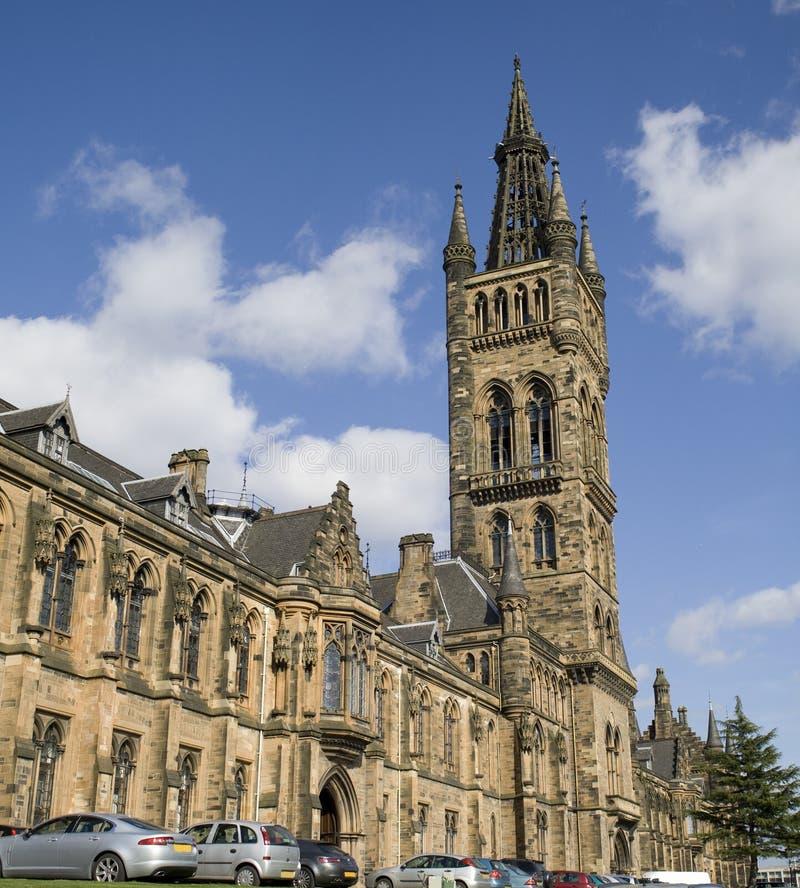 Glasgow University foto de stock