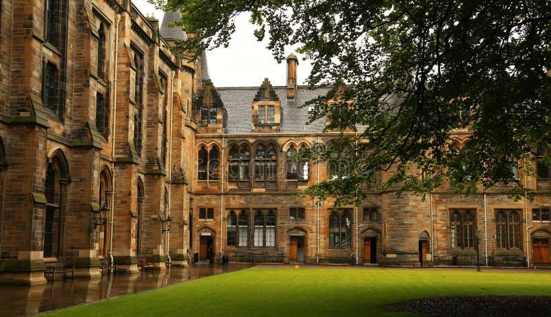 Glasgow university stock images